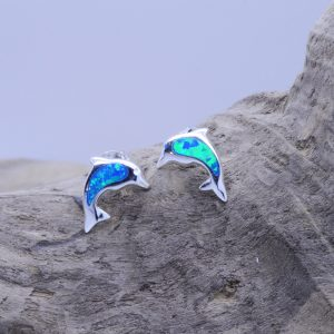 boucles dauphins opales